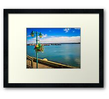 Digby Boardwalk Framed Print