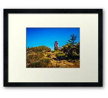 Point Prim Lighthouse Framed Print