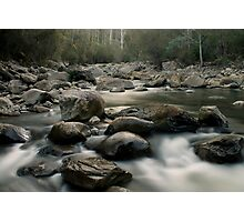 Fluffy River Photographic Print