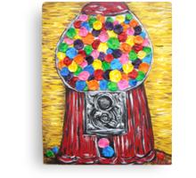 """Bubblegum Machine"" Canvas Print"