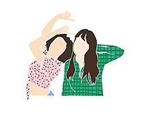 YOU AND ME GIRL Photographic Print