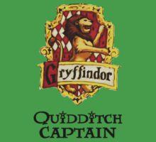 Gryffindor Quidditch Captain Kids Clothes