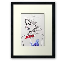 Quiet Life. Framed Print