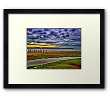 Parrsboro Dawn Framed Print
