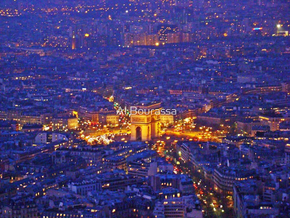 The Arc From The Eiffel by Al Bourassa