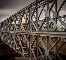 Traditional Iron Bridge by mlphoto
