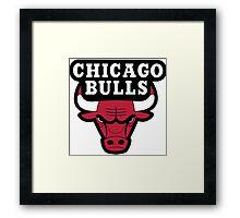 Chicago Bulls Logo Framed Print