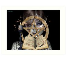 spellbound .. a witch`s tale Art Print