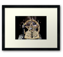 spellbound .. a witch`s tale Framed Print