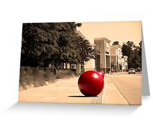 Target Bubble Greeting Card