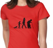 Human Aging 3 Womens Fitted T-Shirt