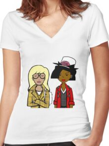 Ugh As If Women's Fitted V-Neck T-Shirt