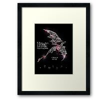 The Hobbit - Lonely Mountain Framed Print