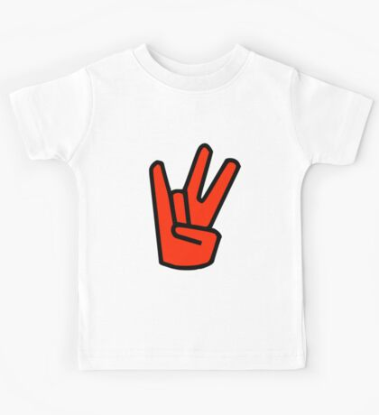 2 in the Pink 1 in the Stink Hand Signal Kids Tee
