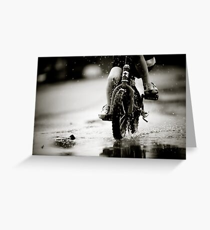 Wet Weather Madness... Greeting Card