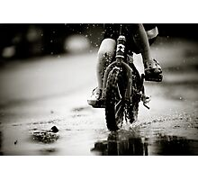 Wet Weather Madness... Photographic Print