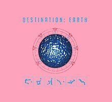 Destination Earth chevron symbols by vinainna