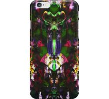 Abstract Mindmirror Acrylic Painting iPhone Case/Skin