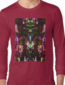Abstract Mindmirror Acrylic Painting Long Sleeve T-Shirt