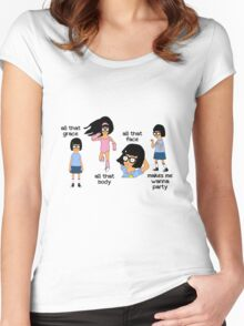 All That Face Women's Fitted Scoop T-Shirt
