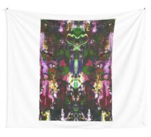 Abstract Mindmirror Acrylic Painting Wall Tapestry