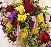 Wedding Bouquet by Judith Hayes