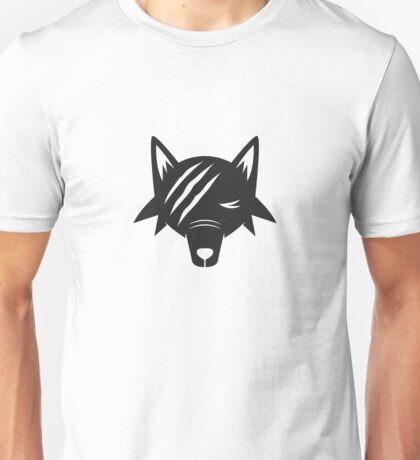 Scarred Wolf Unisex T-Shirt