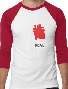 Reality - White Men's Baseball ¾ T-Shirt