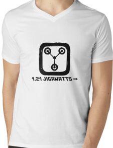 1.21 jigawatts Mens V-Neck T-Shirt