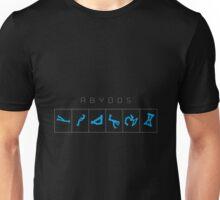 Abydos chevron destination symbols Unisex T-Shirt