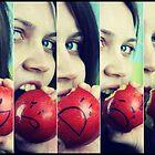 If Apples had Feelings.... by lollipoppins