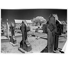 Graveyard, St Thomas Church, Moonbah Poster