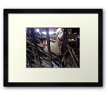 Girder Door Framed Print
