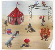 Flea Circus Poster