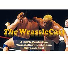 The WrassleCast logo Photographic Print