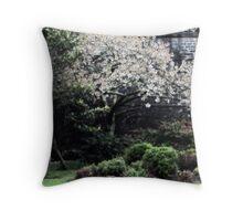 Spring: Royal Citadel, Plymouth UK Throw Pillow