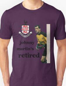 John Martin's retired T-Shirt