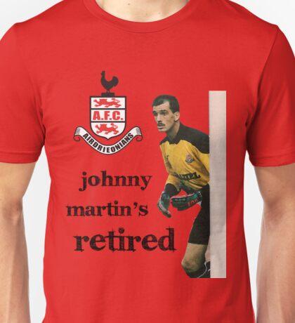 John Martin's retired Unisex T-Shirt