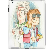 Doc & Marty iPad Case/Skin