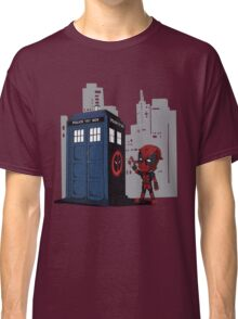 Defacing the Phonebox Classic T-Shirt