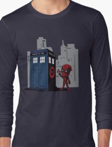 Defacing the Phonebox Long Sleeve T-Shirt