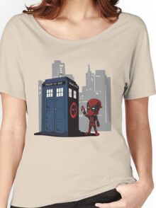 Defacing the Phonebox Women's Relaxed Fit T-Shirt