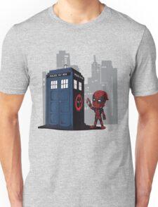 Defacing the Phonebox Unisex T-Shirt