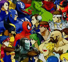 Superhero Fan Fiction Face\Off by boxsmasher