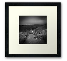 Shadows of Snowdon Framed Print