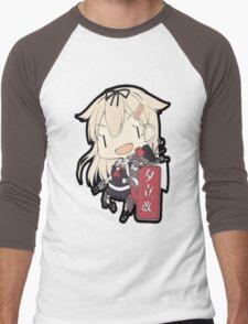 yuudachi Men's Baseball ¾ T-Shirt
