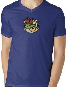 Super Smash Boos - Bowser Mens V-Neck T-Shirt