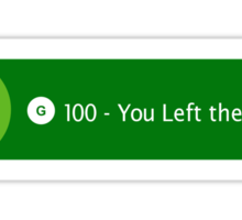 Xbox One Achievement - You Left the House Sticker