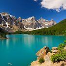 Morraine Lake by Thomas Peter