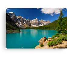 Morraine Lake Canvas Print